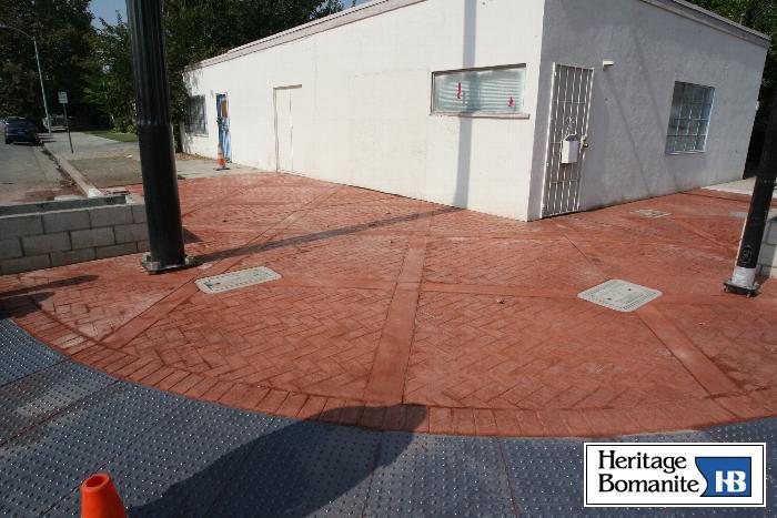 Heritage Bomanite Architectural And Specialty Concrete